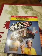 Nitro Circus: The Movie 3D Blu Ray DVD Combo w/ slipcover