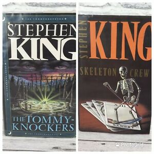 Stephen king Skeleton Crew And The Tommy Knockers hardback edition