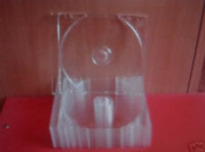 20  CD TRAYS  (INNERS) CLEAR