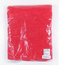 SUPREME DEBOSSED LOGO BEACH TOWEL RED NEW SS18 IN HAND