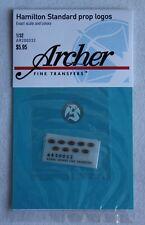 Archer 1/32 Hamilton Standard Aircraft Propeller Logos (9 logos) AR32006