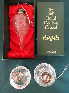 Vintage Waterford Crystal 1986 Christmas Ornament