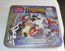 Vintage 2004 Spider-Man vs Venom Mega Bloks 280 Pieces Collectors Edition Vol 1