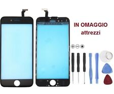 VETRO Originale touchscreen touch screen per iPhone 6 NERO attrezzi omaggio