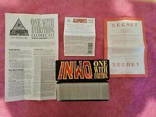 INWO ONE WITH EVERYTHING 450 CARDS ILLUMINATI GAME STEVE JACKSON 1995