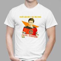 Rage Against The Machine Evil Empire Rock Band Men's White T-Shirt Size S - 3XL