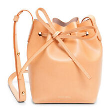 Authentic Mansur Gavriel Mini Mini Bucket Crossbody Bag - Cammello Antico - NEW