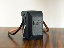 Mr. ZHOU Black Leather Full Protective Case for Rolleiflex 2.8F 3.5F TLR Cameras
