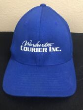Warburton Courier Inc.Cap Delivery Blue with White lettering Flexfit S M cc45d578b85b