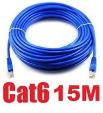15M 50FT RJ45 CAT6  Ethernet LAN Network Cable 10M/100M/1000M compatible!