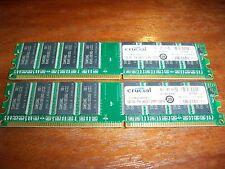 2GB (2 x 1GB) PC3200 DDR RAM Memory for Dell Dimension 2400 4600 8300 B110