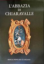 Libro Arte Gotica L'Abbazia di Chiaravalle Milano Ferdinando Reggiori 1970