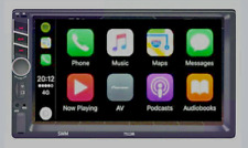 Unidad doble din Carplay Android Auto