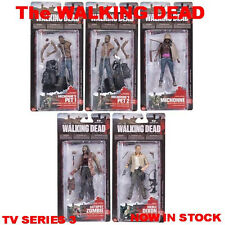 The Walking Dead 2013 TV SERIES 3 McFarlane Set Of 5 Figures SEALED In Stock Now