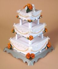 A4 Card Making Templates for 3 Tier Wedding Cake & Display Box by Card Carousel