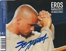 """Eros Ramazotti Autogramm signed CD-Cover """"Un Angelo Non E"""""""