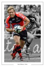 JONNY WILKINSON TOULON RUGBY SIGNED PHOTO PRINT POSTER