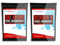 CREATINE XPLODE+ RECOVER X - ALL IN ONE MUSCLE GAIN