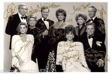 Dallas ++9 Autogramme++ ++Kultserie 80er Jahre++