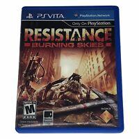 Resistance: Burning Skies (Sony PlayStation Vita, 2012)