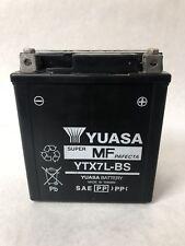 kawasaki klx250sf 2010 KLX 250 SF Battery YUASA YTX7L-BS Low Miles Oem