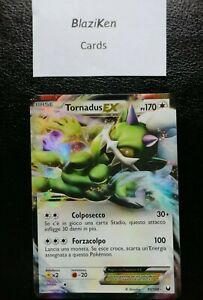 Carta Pokemon TORNADUS EX 90/108 N&B Esploratori delle Tenebre ITALIANO