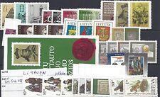 litauwen volledige jaargang 1993 (mi 511-546 + BLOK 3)  postfris
