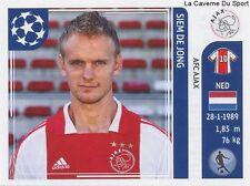 N°251 SIEM DE JONG # NETHERLANDS AFC.AJAX STICKER CHAMPIONS LEAGUE 2012 PANINI