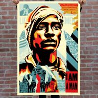 Shepard Fairey aka Obey | Voting Rights Are Human Rights | 2020 Signé main |COA