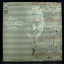 JUILLIARD STRING QUARTET ives two string quartets LP Mint- 360 Promo MS 7027