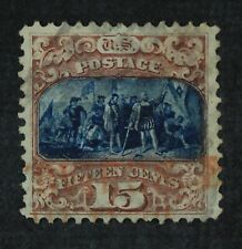 CKStamps: US Stamps Collection Scott#119 15c Pictorial Used CV$210