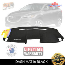 DASH MAT Black Mazda CX-9 Luxury Classic Grand Touring 1/2008-6/2016 DM1086 CX9