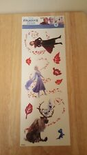 Disney's Frozen 2 Wall Decal Elsa Anna Olaf Kids Room Decor 9 Sticker Wall