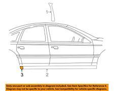 NEW OEM Ford Rocker Panel Molding Rear RH 2W7Z-54101C48-AAA Crown Victoria 92-11
