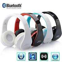 Wireless Bluetooth Foldable Headset Stereo Headphone Earphone #Gic for iPhone #G