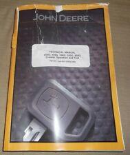 John Deere 450g 455g 550g 555g 650 Dozer Technical Service Op Test Manual Tm1403