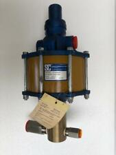 SC HYDRAULIC 10-6000W015 PNEUMATIC AIR FLUID/ LIQUID PUMP 25:1 RATIO NEW
