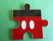 Mickey Mouse Jigsaw Puzzle Piece Disney Pin