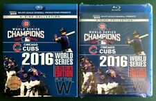 Chicago Cubs 2016 World Series Coll Ed (8 Blu-rays, Slipcov) SEALED, Ohio seller