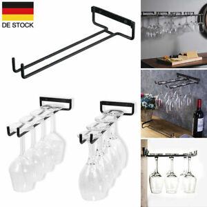 Weinglashalter Gläserschiene Weinglashalterung Stielgläser Weinglasanhänger DE