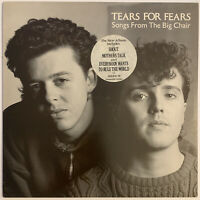 TEARS FOR FEARS SONGS FROM THE BIG CHAIR LP PHONOGRAM UK 1985 PRO CLEANED