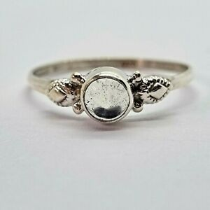 Brand New Sterling Silver 925 Quartz (Round) Ring, Size R