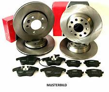 Mazda 3 (BL) Bremsen VORNE + HINTEN Scheiben und Beläge