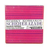 Rimsky Korsakov Mario Rossi Scheherazade Vanguard VTC1620 Stereo Reel To Reel