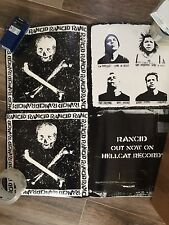 Rancid 2 Sided Promo Poster 24 X 24 Self Titled Release Advertisement