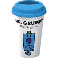 Creative Tops Double Walled Porcelain Mr. Men Mr. Grumpy Take Away Travel Mug Pl