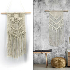 Indian Macrame Wall Art Handmade Woven Wall Hanging Tapestry Bohemian Home Decor