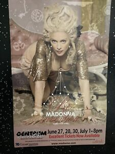 Madonna Promotional Poster From Her Reinvention Tour
