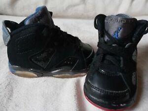 Nikr Air Jordan 6 Retro Toddler Size 4.5C Sneakers Basketball 2009 384667-001