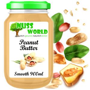 Erdnussbutter 900mL ungezuckert ohne Zusätze, Peanut Butter Gute Qualität 1A